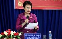 Ủy ban Kiểm tra trung ương thấy cần kỷ luật bà Phan Thị Mỹ Thanh
