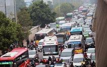 Hà Nội nắn lộ trình 400 xe khách để chống kẹt xe