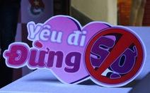 """Bạn trẻ Sài Gòn thích thú với gameshow """"Yêu đi - Đừng sợ"""""""
