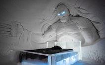 Thăm khách sạn băng độc đáo 'ăn theo' phim Game of Thrones
