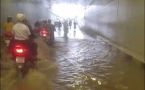 Hầm chui 'đón APEC' lênh láng nước dù trời không mưa