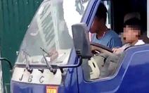 Đã xác định người giao xe tải cho em bé 10 tuổi cầm lái