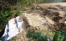 Đập hồ chứa thải nhà máy vàng ở Bồng Miêu có bị vỡ