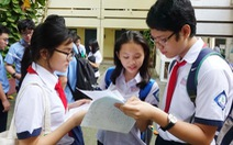 Học sinh lớp 9 TP.HCM thi tuyển sinh lớp 10 ngày 2 và 3-6