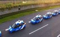 Trung Quốc lần đầu tiên cấp phép thử nghiệm xe không người lái