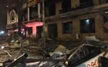 Quán nướng hai tầng nổ giữa đêm ở Nghệ An
