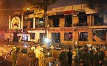 Quán nướng tan hoang sau vụ nổ gas như bom trong đêm