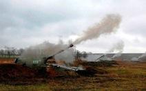 Nga tập trận pháo binh rầm rộ ở Crimea