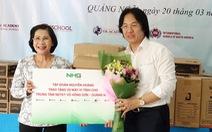 Tập đoàn Nguyễn Hoàng đến với trẻ khuyết tật Quảng Ngãi