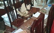 Lại sập mảng vữa trần phòng học tại Hà Nội