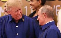 Ông Trump không thèm mừng ông Putin thắng cử