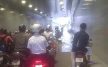 'Hầm chui APEC' ngập nước khi trời không mưa do thấm hố thu