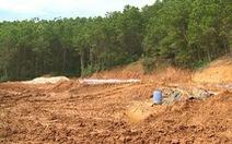 Bộ tài nguyên yêu cầu dừng khai thác tận thu vàng ở Bồng Miêu