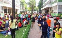Công nhân nhà máy giày Đồng Nai ngưng việc vì lo giảm lương