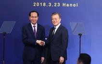 Tổng thống Moon Jae In: 'Bên nhau, chúng ta sẽ có trái ngọt'