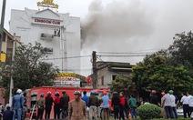 200 cảnh sát chữa cháy tòa nhà karaoke Kingdom Hà Tĩnh