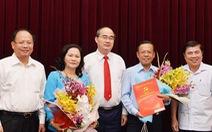 Thành ủy TP.HCM có trưởng ban Tổ chức, trưởng ban Dân vận mới