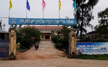Hiệu trưởng 'ém' tiền ủng hộ học sinh sau sự cố Formosa
