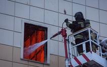 Cháy trung tâm thương mại ở Nga: Không có nạn nhân là người Việt Nam