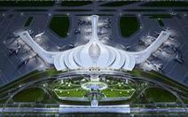 Chọn thiết kế hoa sen cho sân bay Long Thành