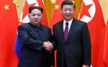 Video ông Kim Jong Un gặp gỡ ông Tập Cận Bình
