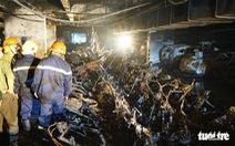 Khởi công sửa chữa tầng hầm chung cư Carina