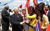 Tổng bí thư Nguyễn Phú Trọng thăm cấp nhà nước tới Cuba