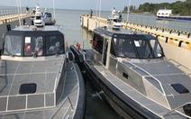 Mỹ chuyển giao 6 xuồng tuần tra giúp Việt Nam chống 'người xấu'