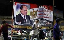 Tổng thống Ai Cập tái đắc cử với 92% phiếu bầu