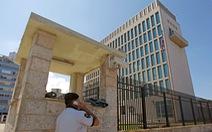 Mỹ vẫn cố định số nhân viên ngoại giao tối thiểu tại Cuba