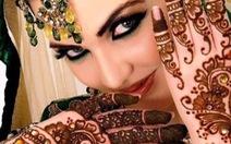 Mehndi - Nghệ thuật vẽ tay cho cô dâu Ấn Độ