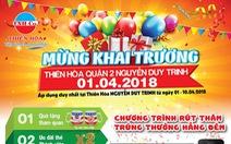 Khai trương Điện máy Thiên Hòa tại Nguyễn Duy Trinh, quận 2