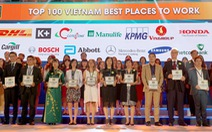 """Manulife Việt Nam là """"Nơi làm việc tốt nhất ngành bảo hiểm 2017"""""""