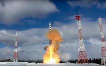Nga thử lần 2 tên lửa đạn đạo liên lục địa mới