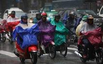 Hầu như cả Sài Gòn mưa lớn rạng sáng cuối tuần 31-3