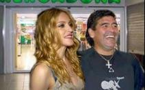 Madonna có con với Maradona?