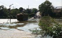 Cứu xe mía giữa dòng nước thủy điện xả lũ, một chiến sĩ hi sinh