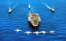 Thông điệp từ siêu hàng không mẫu hạm USS Carl Vinson