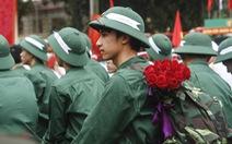 Thủ đô Hà Nội tiễn 3.500 thanh niên lên đường nhập ngũ