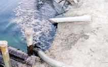 Cưỡng chế xử phạt về môi trường các cơ sở nhớt thải ở Củ Chi