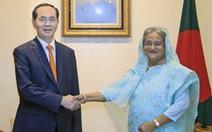 Nâng kim ngạch thương mại Việt Nam - Bangladesh lên 2 tỉ USD
