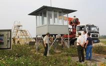 Sân bay Vinh lắp trạm kiểm soát sau vụ bị đột nhập