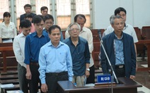 Nhiều sai phạm trong lắp đặt ống nước sông Đà