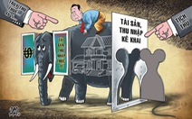 Tài sản bất minh phải tịch thu, chứ không thể thu thuế