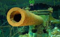 Tàu Mỹ chìm gần 80 năm mà súng ống như còn nguyên