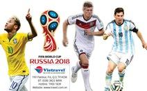 Mua vé xem World Cup dễ dàng tại Việt Nam
