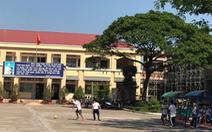 Vụ cô giáo quỳ: Đề nghị cảnh cáo về mặt Đảng với ông Võ Hòa Thuận