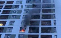 Cháy tại chung cư PARC Spring ở Sài Gòn, dân nháo nhào bỏ chạy