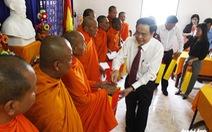 Ban bí thư rất quan tâm đến đời sống cộng đồng dân tộc Khmer
