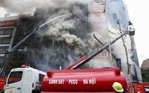 Bộ Công an: Tổng kiểm tra phòng cháy chữa cháy cả nước